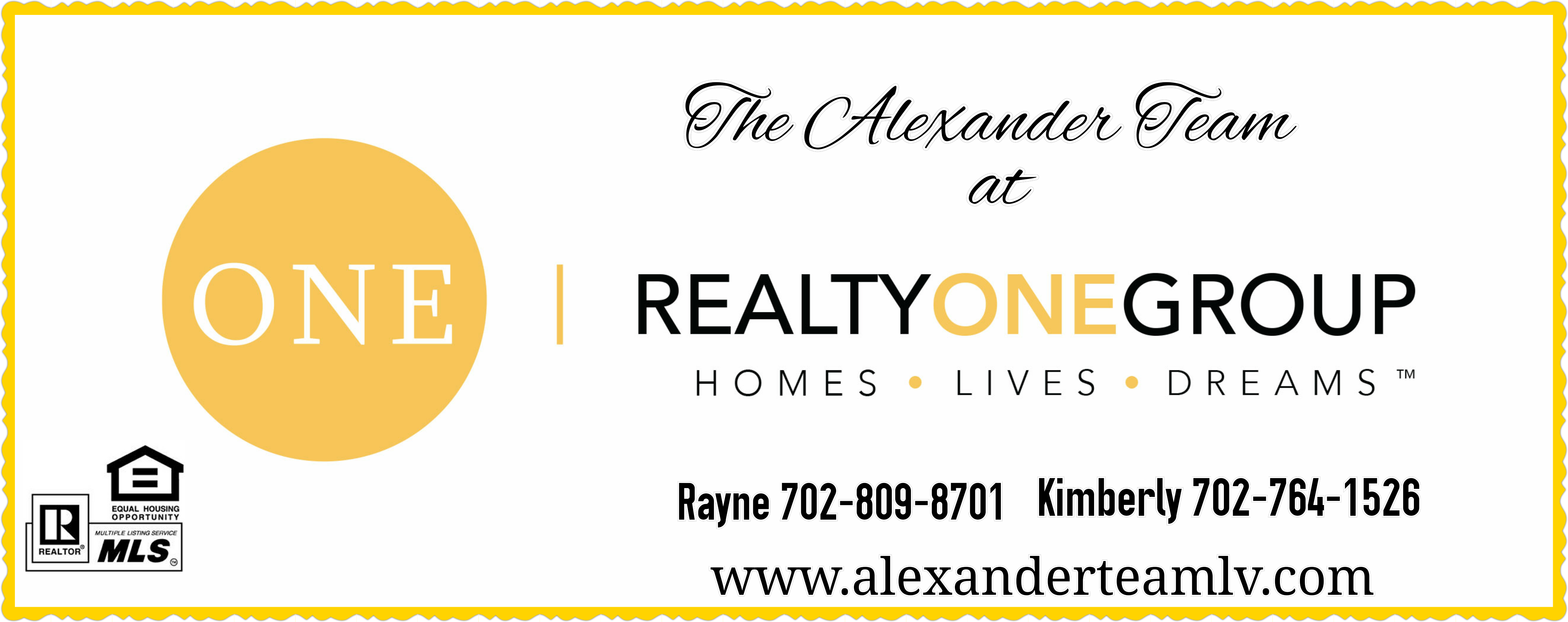 The Alexander Team at Realty One Group