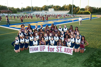 Team Up for St. Jude Spirited by Varsity All Star