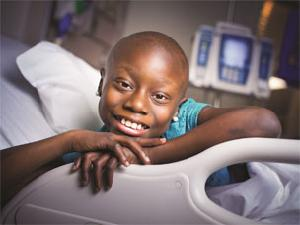 Kayla, movie star, age 9, acute lymphoblastic leukemia