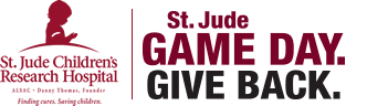 St. Jude. Game Day Give Back