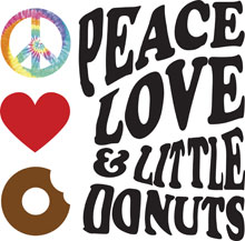 Peace, Love and Donuts