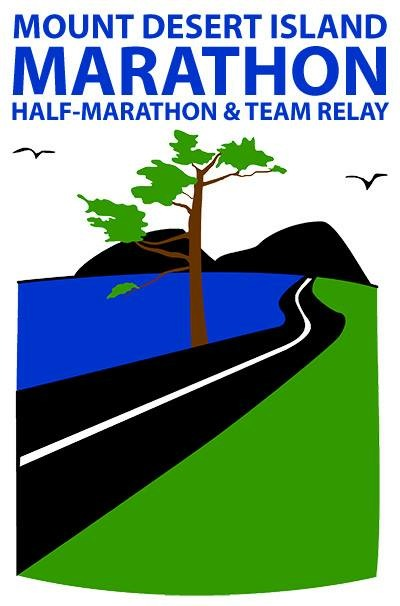 Mount Desert Island Marathon, Half and Team Relay logo