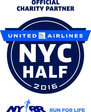 United Airlines NYC Half Marathon logo