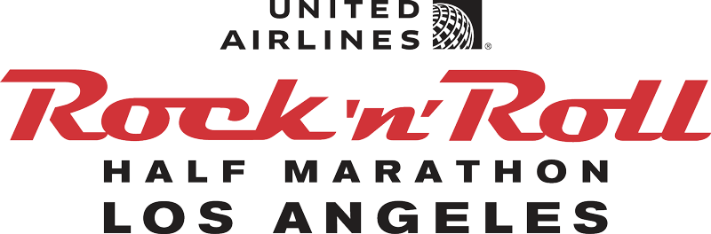 United Airlines Rock 'n' Roll Los Angeles Half Marathon  logo
