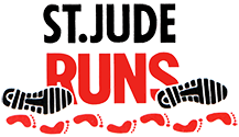 St. Jude East Peoria to Peoria Run logo
