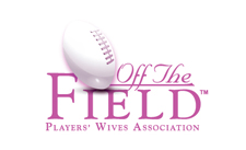 Off the Field Player's Wives Association logo