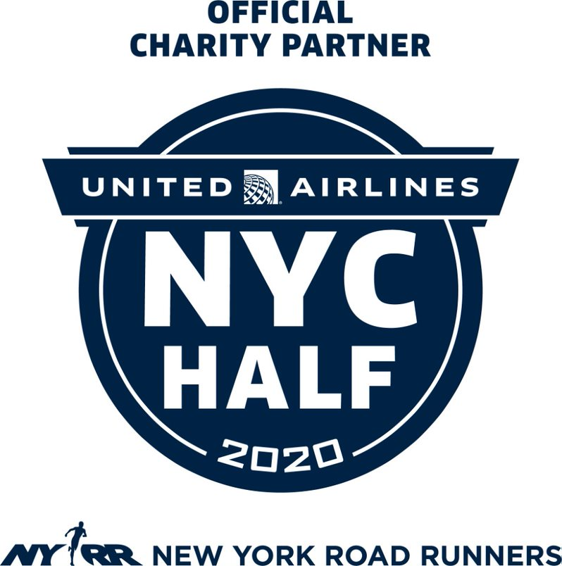 2020 United Airlines NYC Half  logo